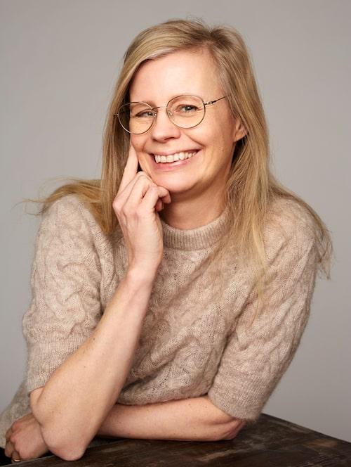 Hedvig Montgomery, barnpsykolog och författare.