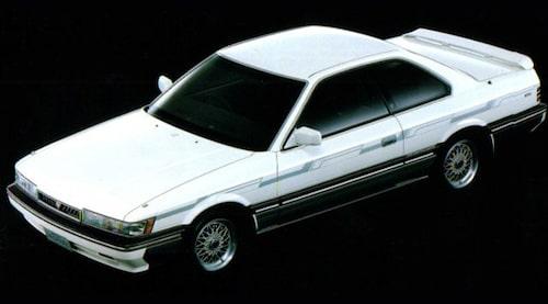Autech och Zagato utgick från Nissans lyxsportcoupé Leopard när de skapade Stelvio AZ1.