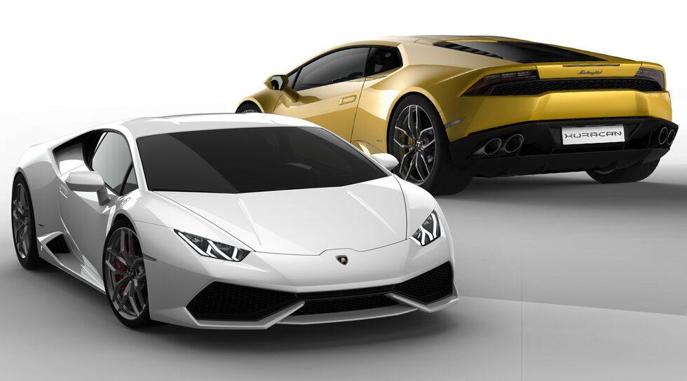 Lamborghini Huracán officiell