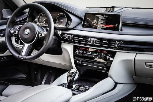 Interiördesign som BMW 3-serie F30 påbörjade.