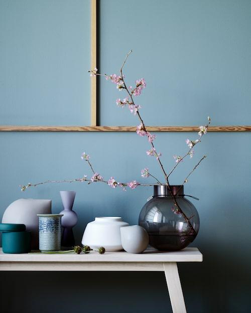 Kruka från Åhléns kollektion Japonism som kommer till hösten.