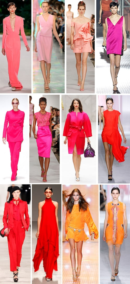 Akris, Chrisopher Kane, Oscar de la Renta, Lanvin Gucci, Oscar de la Renta, Burberry Prorsum, Christian Dior Ralph Lauren, Pugh, Versace, Christian Dior