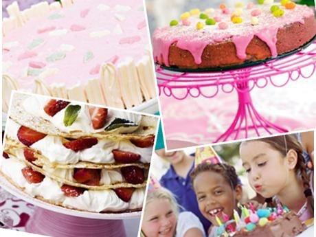 Tips på tårtor till barnkalaset.