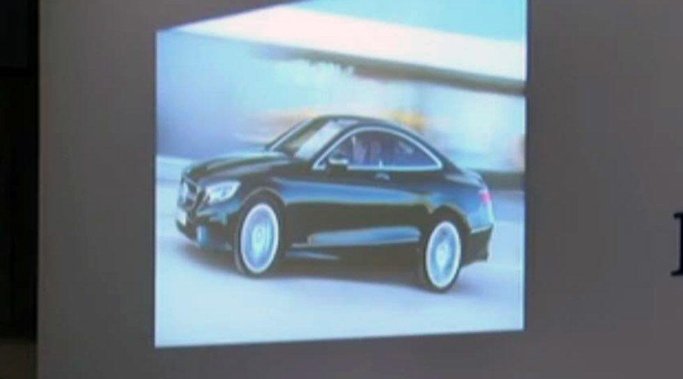 Mercedes S-klass Coupé