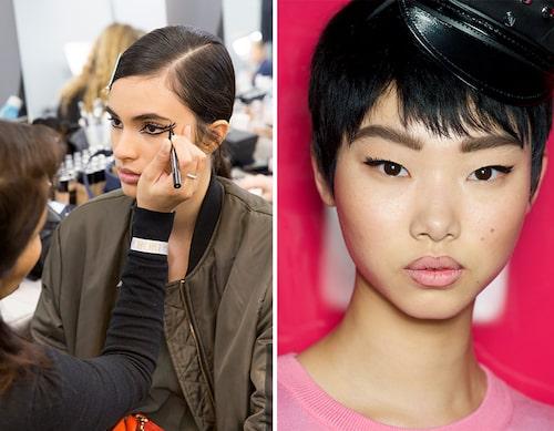 Eyelinern är makeupscenens stjärna.