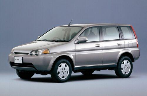 Honda HR-V som den såg ut förr.