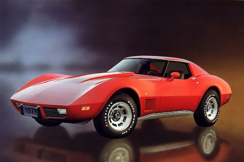 Chevrolet Corvette, 1977.