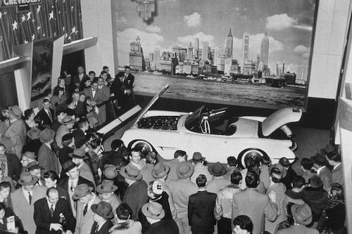 Chevrolet Corvette på Motorama 1953.