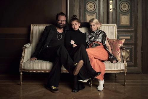 Johan Lindeberg, Blue Lindeberg, Jennie Rosén.