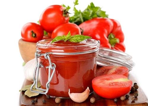 Gör en egen ketchup! Det går bra att frysa in.