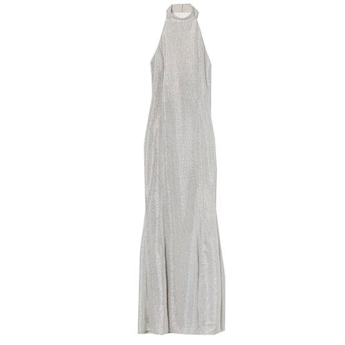 Maxiklänning med halterneck från H&M.