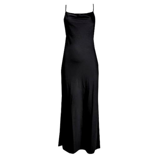 Svart slipklänning från Cubus.