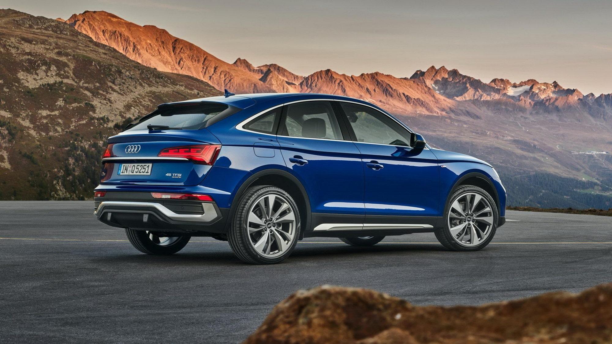 Audi Q5 Sportback presenterad med slank profil   Teknikens ...