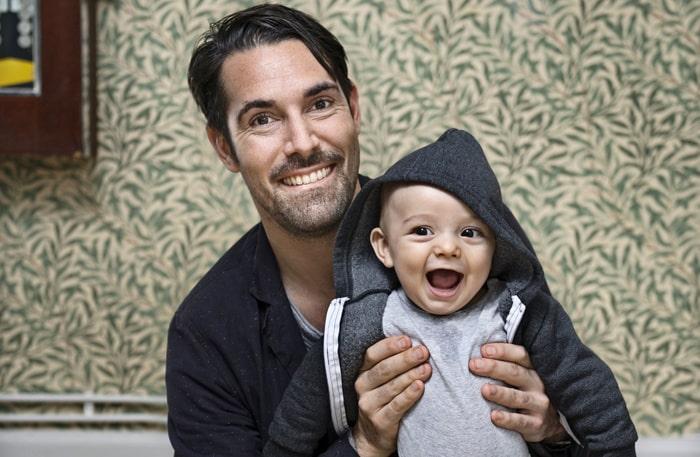 """""""Jag var rädd att få ett barn som inte är lika aktivt som jag. Nu har jag fått bekräftat att han har fan mer energi än vad jag har."""""""