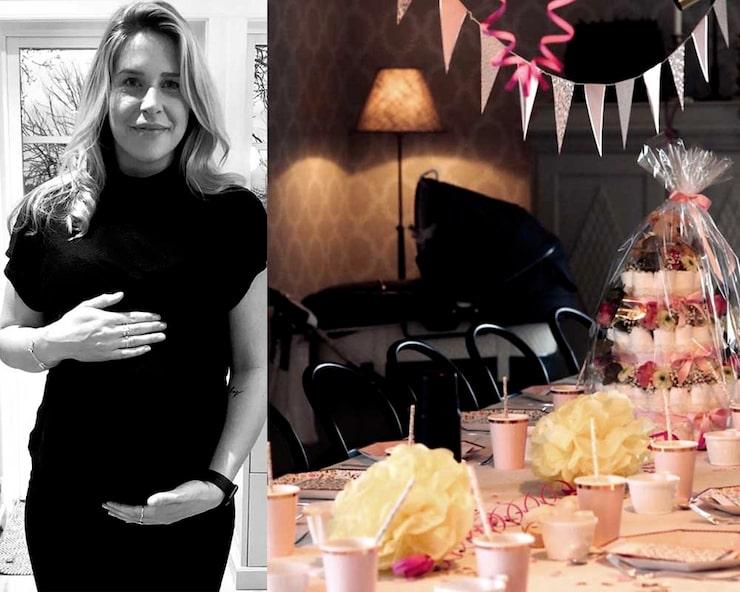 Klart att Caroline skulle få en baby shower!