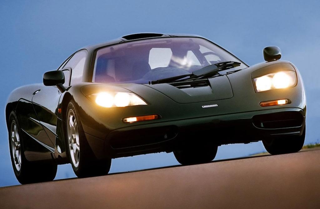 McLaren F1 var en supersportbil som byggdes mellan åren 1993-1998.