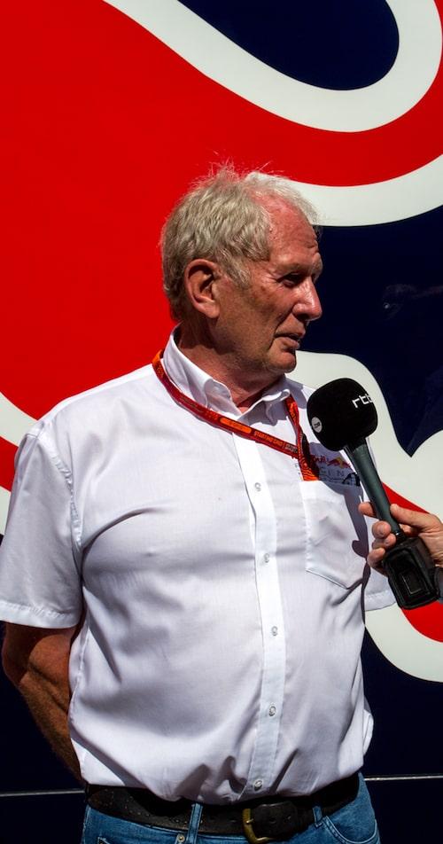 Helmut Marko.