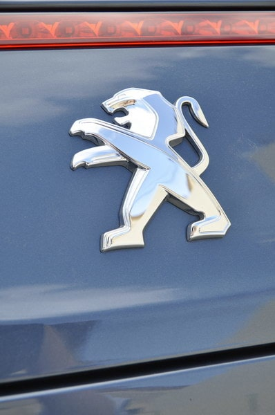 Peugeots nya logotyp.