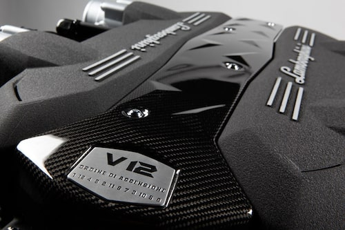 Lamborghinis nya V12-motor.