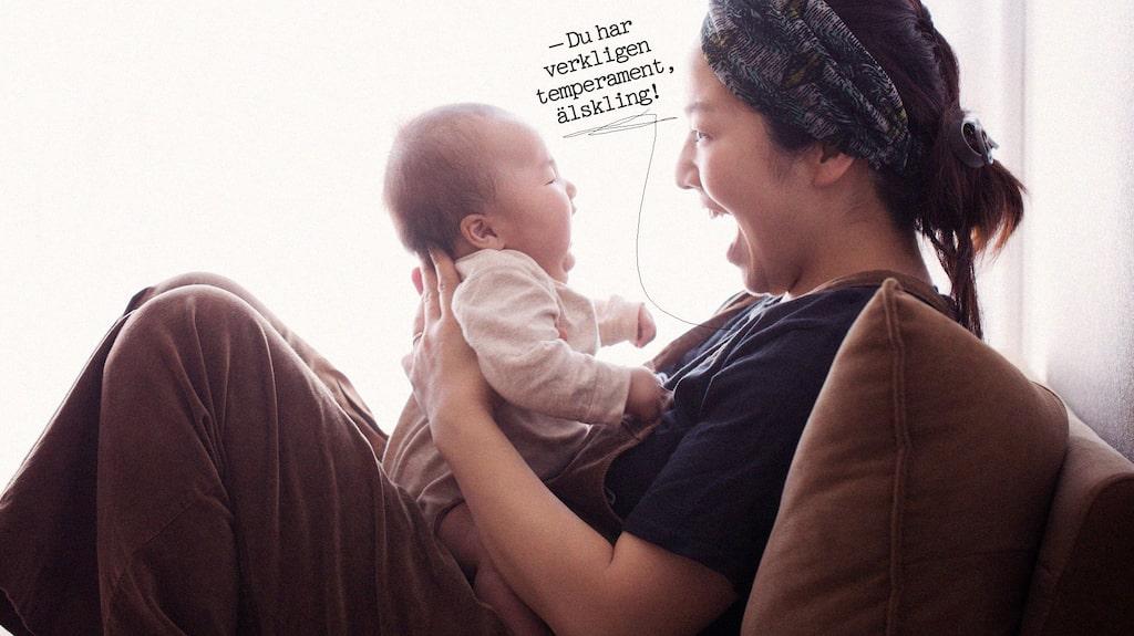 Hur är det att ha en high need baby? (Personerna på bilden har inget med texten att göra.)