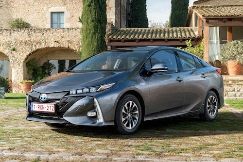 Toyotas laddhybrid Prius Plug-in Hybrid.
