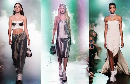 Alla kläder och väskor var specialgjorda för showen och designade av Maria Nilsdotter.