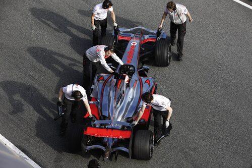 Heikki Kovalainen, Vodafone McLaren Mercedes MP4-23.