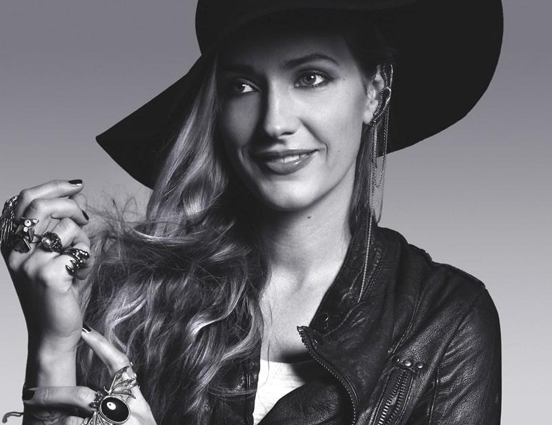 Maria Nilsdotter smyckesdesigner och vinnare av Guldknappen Accessoar 2012.
