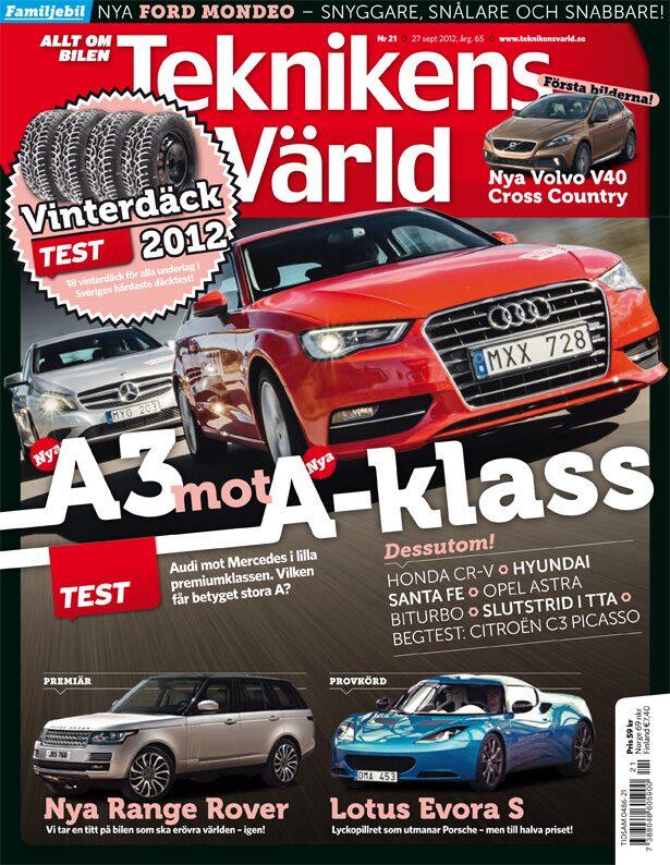 Teknikens Värld nummer 21 / 2012