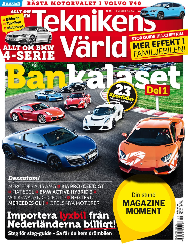 Teknikens Värld nummer 15 / 2013
