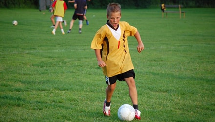 Lagsport är bra för barnen