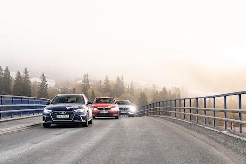 Två delvis nya nyllen, men alla tre är välbekanta i den svenska trafikbilden.