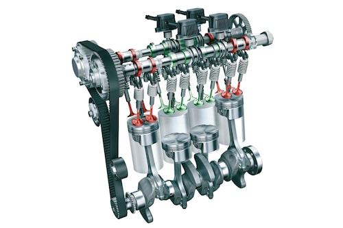 Riktigt sinnrikt konstruerade kamaxlar gör så att halva motorn lätt kan stängas av.