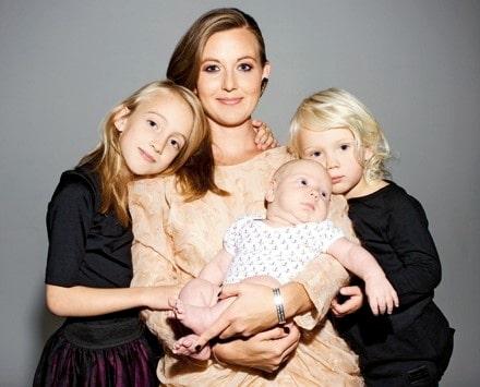 """Sanna Lundell: """"Det finns inget gulligare än 1,5-åringar"""""""