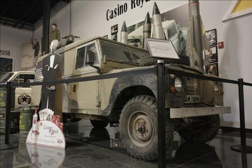 Land Rover som användes i Casino Royale.