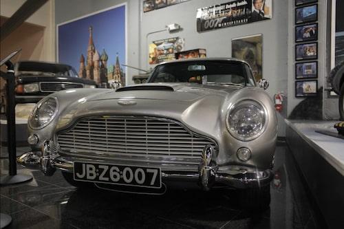 Aston Martin DB5 från Goldeneye.
