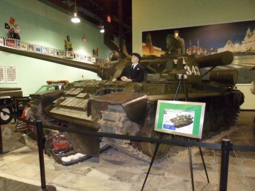 T55-stridsvagnen som användes i Goldeneye.