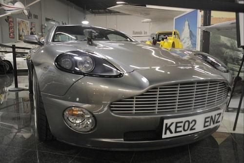 Aston Martin Vanquish från Die Another Day.