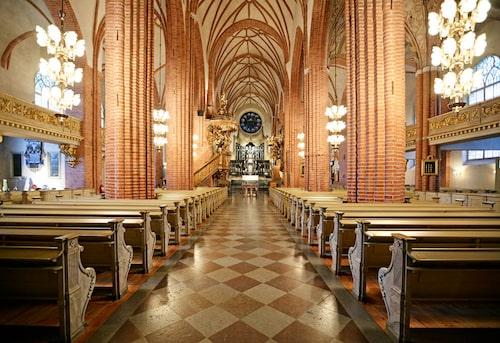 I Storkyrkan gifte sig kronprinsessan Victoria och prins Daniel 2010.