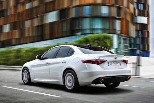 Nästa år kommer snålversionen Alfa Romeo Giulia Advanced Efficiency.