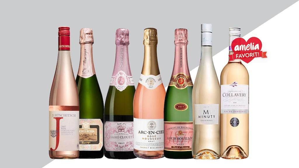 Rosévin börjar bli alltmer populärt att dricka året om, men visst smakar det lite extra gott på våren och sommaren?