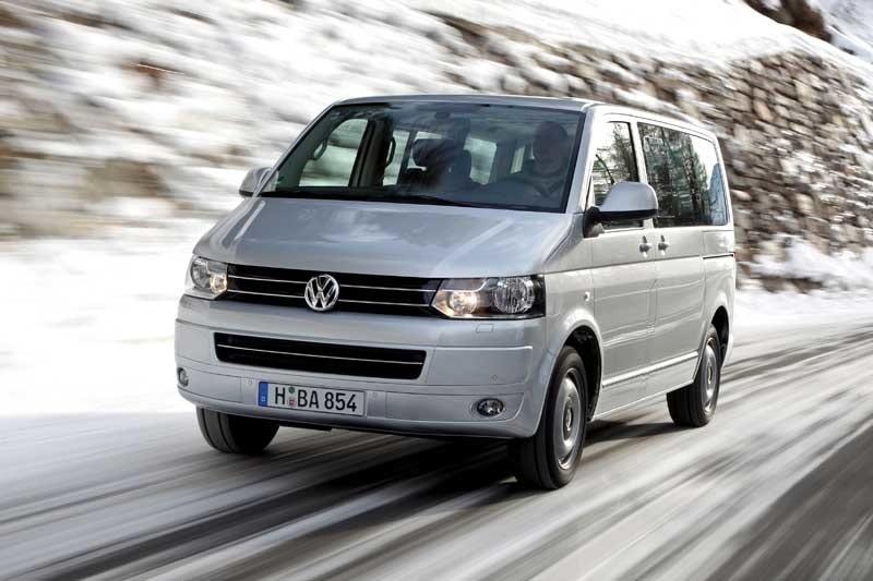 Provkörning av Volkswagen Multivan 4Motion DSG