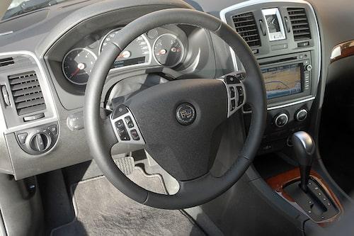 Svagt att inte ha en egen ratt utan förlita sig på Saab.