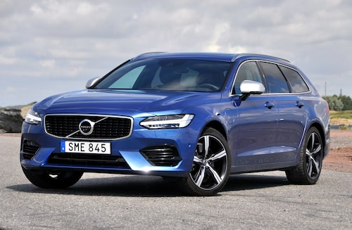 Volvo luggar sina V90 laddhybrid-kunder på oblyga 165 000 kronor i hybridpåslag.
