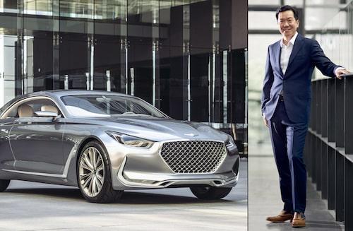 SangYup Lee är även med och designar Hyundais lyxmärke Genesis modeller.