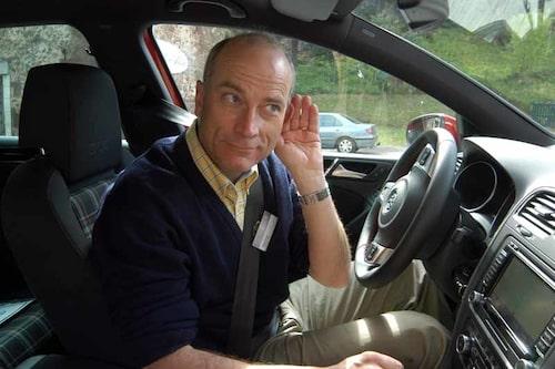 Volkswagen byggt in en högtalare i motorn – jo, det är sant!