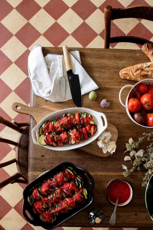 Zara Home hyllar det rustika köket i höstens kollektion.