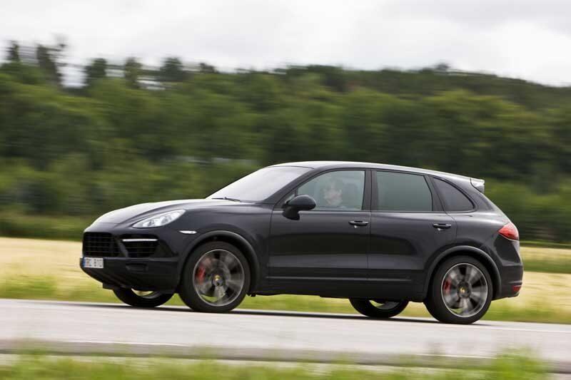 Provkörning av Porsche Cayenne Turbo