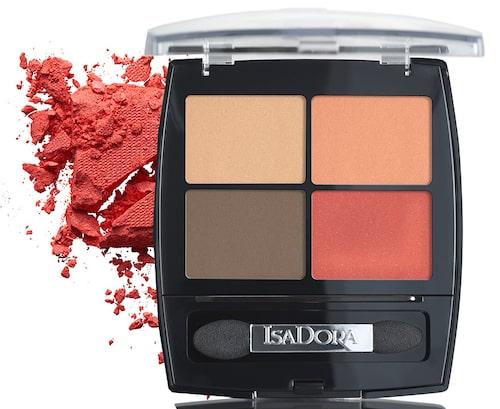 Isadoras palett Eye shadow quartet i nyans 22 Vibrant tangerine. Klicka på bilden och kom direkt till produkten.
