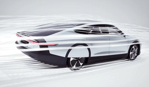 Inte bara slank, Lightyear One påstås även kunna laddas med energi för 40 mils körning över en natt – via ett vanligt 230-volts vägguttag. Hur det går till har ännu inte specificerats.